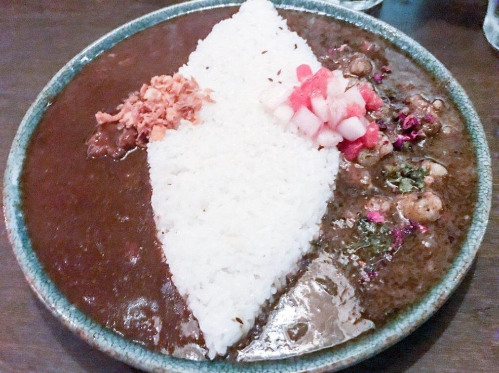 curry bar よそみ season2 あいがけカレー