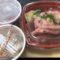 華海鮮丼丸淀屋橋店 ネタ盛り マグロねぎとろ丼セット