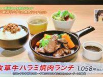 GOOD GOOD MEAT なんば 牧草牛ハラミ焼肉ランチ@難波