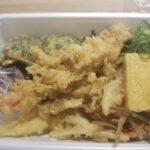 丸亀製麺 3種の天ぷらと定番おかずのうどん弁当