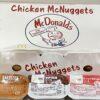 マクドナルド チキンマックナゲット15ピース ルイジアナソースとたまり醤油ソース